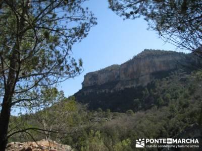 Alto Tajo - excursiones desde madrid, Hundido de Armallones; conocer gente; la pedriza